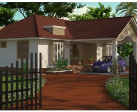 latest 3 bedroom kerala house plans elevation designs