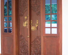 delicate traditional  front door designs