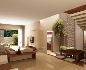latest Modern Living Room home interiors kerala india