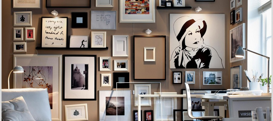 Hanging Photo frame ideas for your home