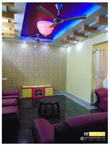 Best Kerala Living room Interior, Kerala homes interior