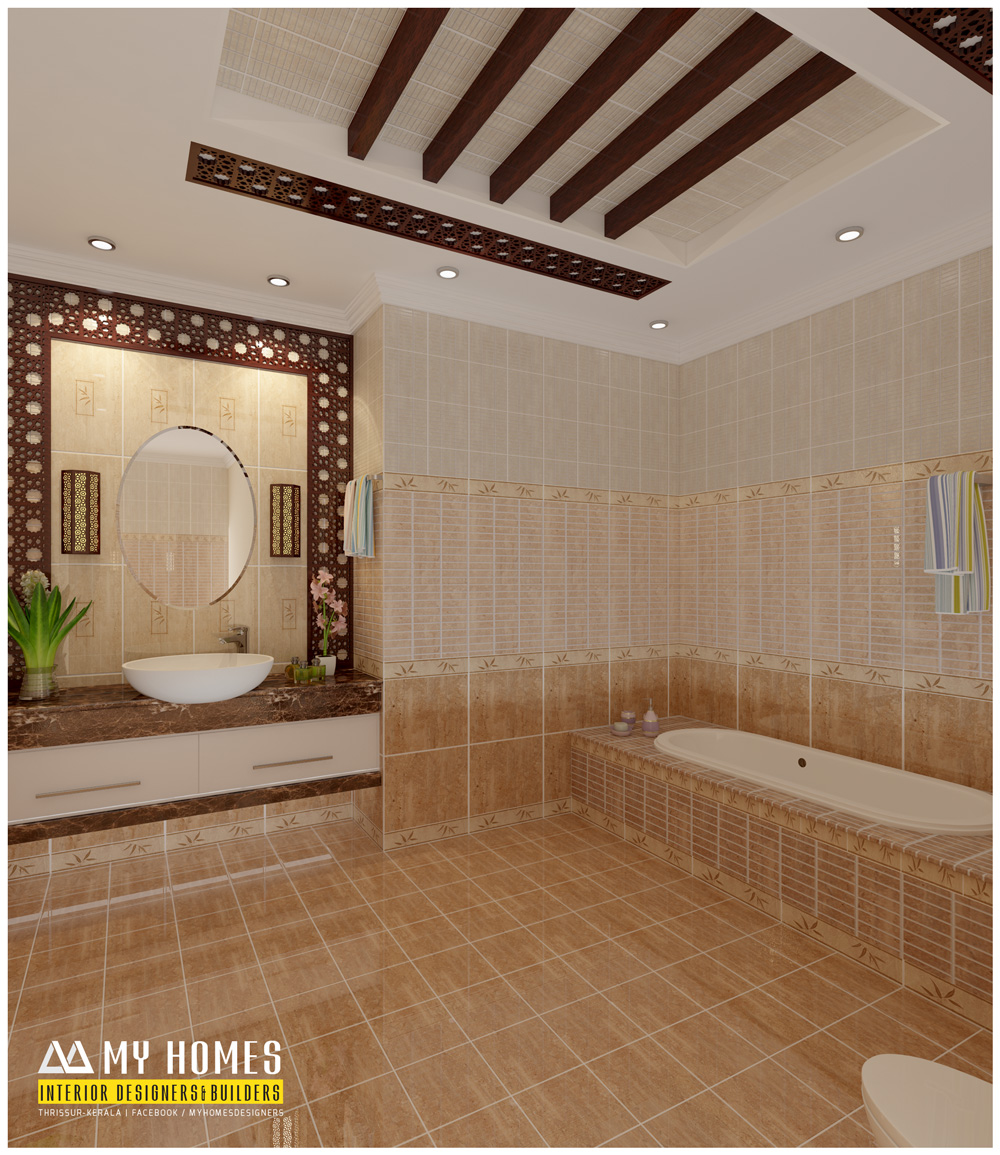 30 Simple Bathroom Tiles In Kerala