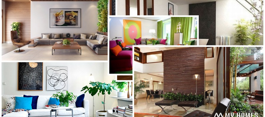 home wall interior  decoration design ideas in kerala