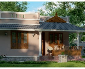 traditional style kerala small house in low budget