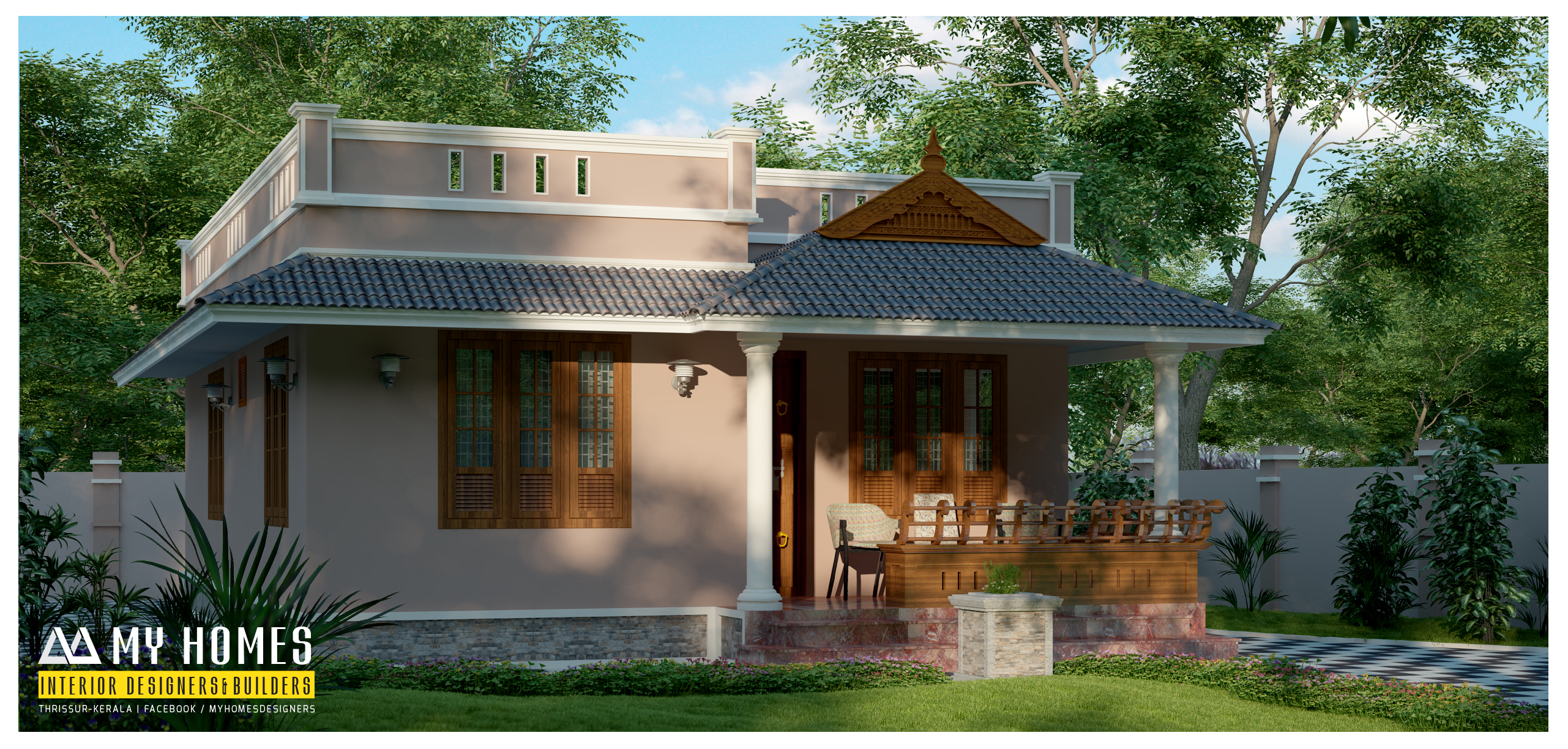 Small budget house plans kerala for Kerala home plans
