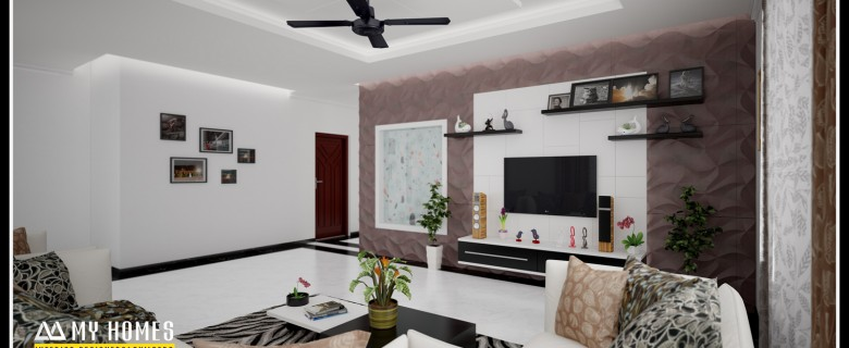 Modern home designs archives page 4 of 6 for Living room design ideas kerala