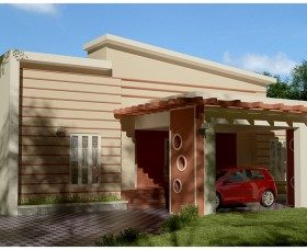 low budget 3 bedroom kerala house plan in Contemporary style