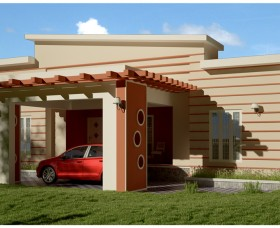 low budget Modern house plan in Kerala