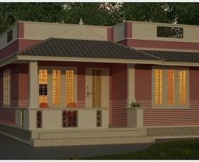 kerala traditional home designs in 1150 sq ft