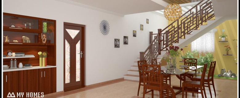 Home interior archives page 2 of 4 for Dining room designs kerala