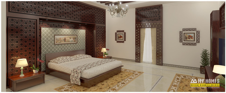 Kerala style bedroom interior pictures for Interior design bedroom kerala style