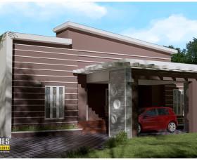 contemporary home design kerala