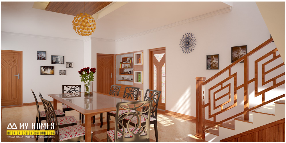 Kerala style dining room designs for Dining room styles 2016