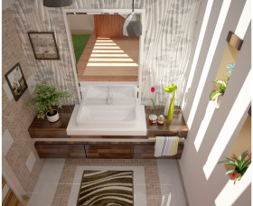 Latest trends wash basin designs kerala