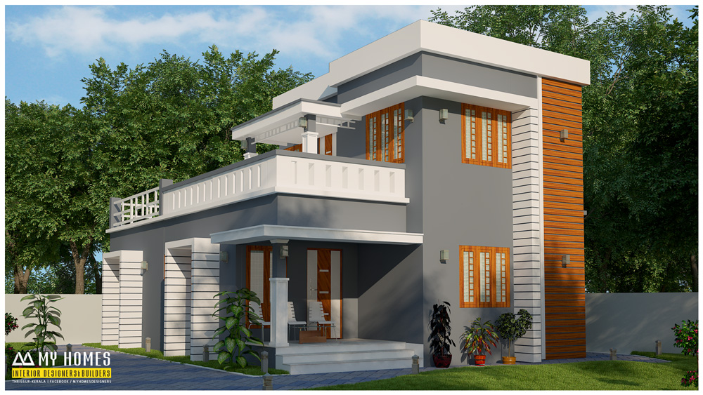 Kerala small house low budget 28 images beautiful low for Small budget house plans in kerala