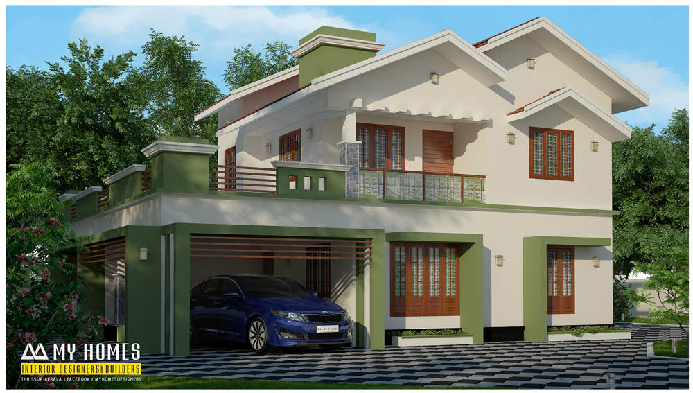 modern homes designa in kerala