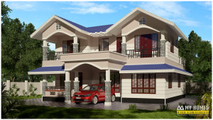modern house designs in kerala