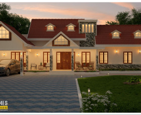simple kerala home designs