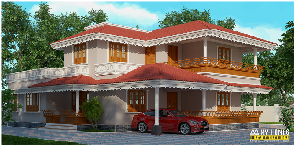 Traditional house designs in kerala house decor for Traditional house plans kerala style