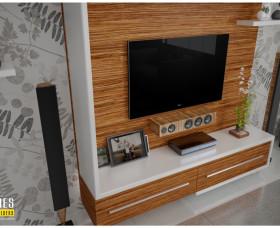 tv stand designs kerala