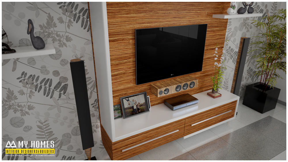 Tv Stand Designs Kerala : Tv stand in kochi tv stand with wide cabins black kochi