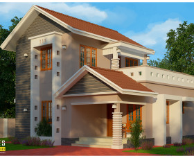 Low budget kerala home design