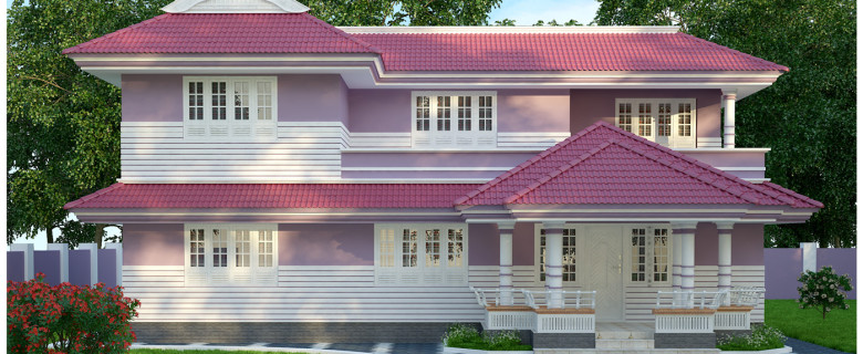 2600 sqft low budget kerala homes design
