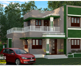 low budget 3 bedroom house plans kerala