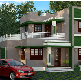 low budget 3 bedroom house plans kerala