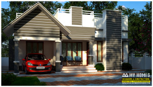 low budget home design in kerala