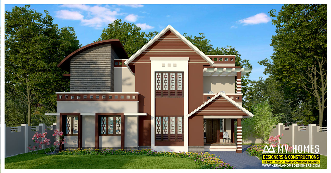 Small budget homes in kerala for Small budget house plans in kerala
