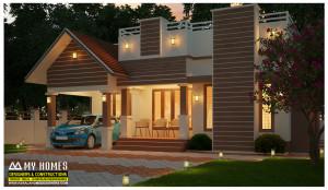 kerala low budget houses