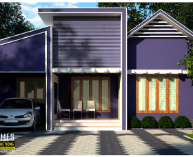 1000 sqft modern style low cost homes in kerala