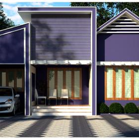 1000 sqft modern style low cost homes in kerala
