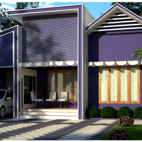 1000 sq ft  contemporary 3 bhk low cost house in kerala