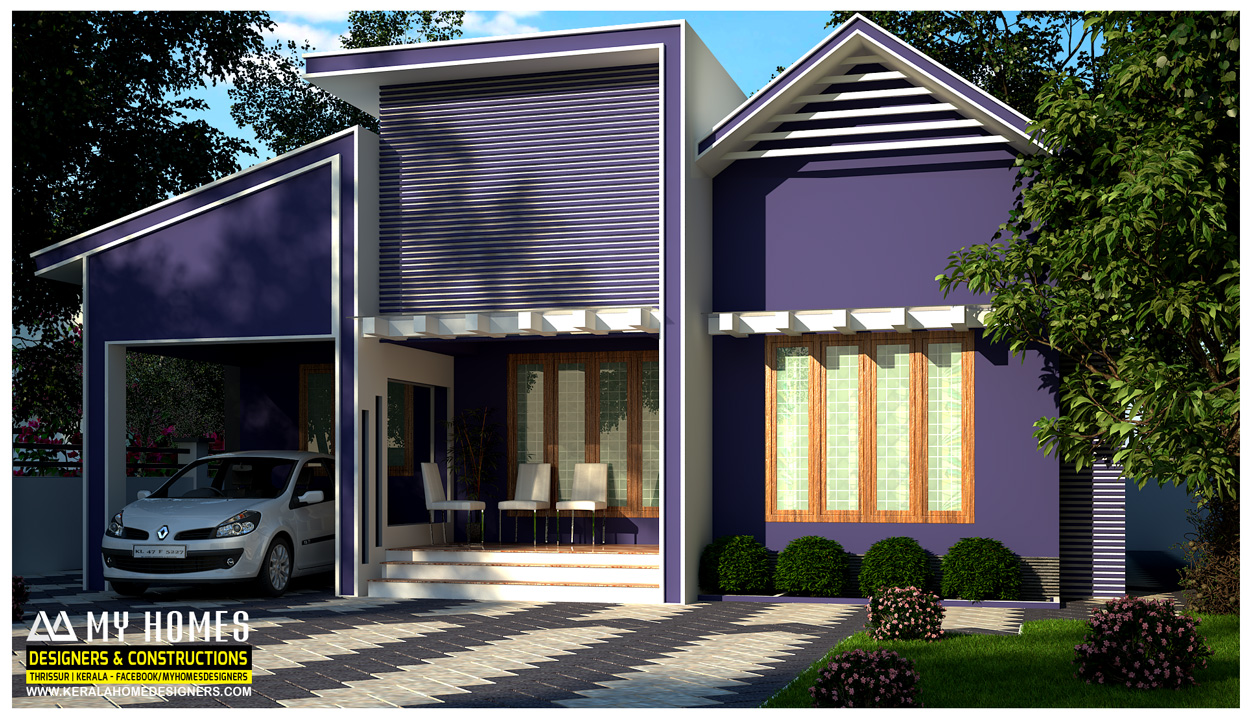 Kerala homes designs and plans photos website kerala india Low cost home design in india