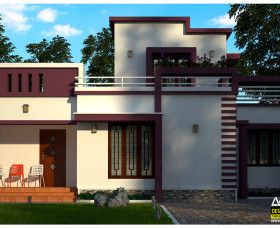 kerala low cost home