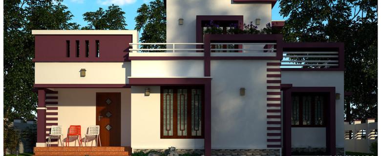 kerala low cost home