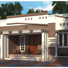Kerala homes designs and plans photos website kerala india Low cost modern homes