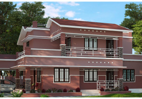 2485 sq ft low budget home designs in kerala