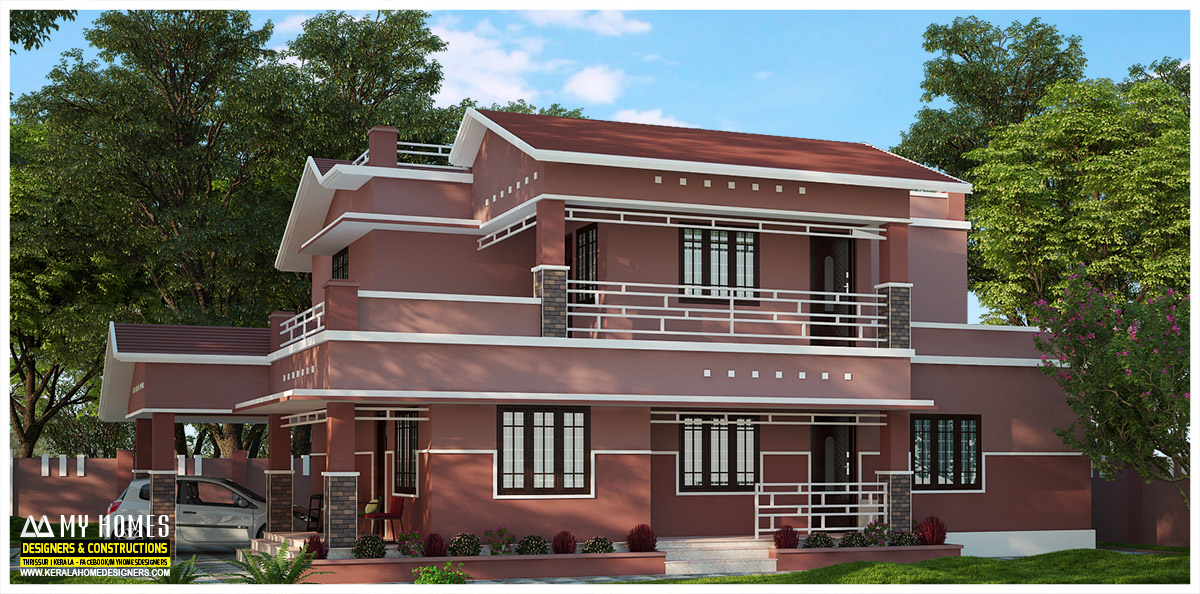low budget home designs in kerala