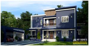 contemporary home kerala