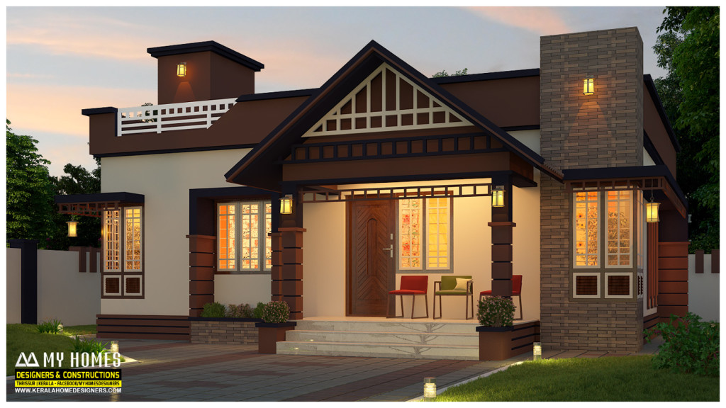 low budget homes designs kerala