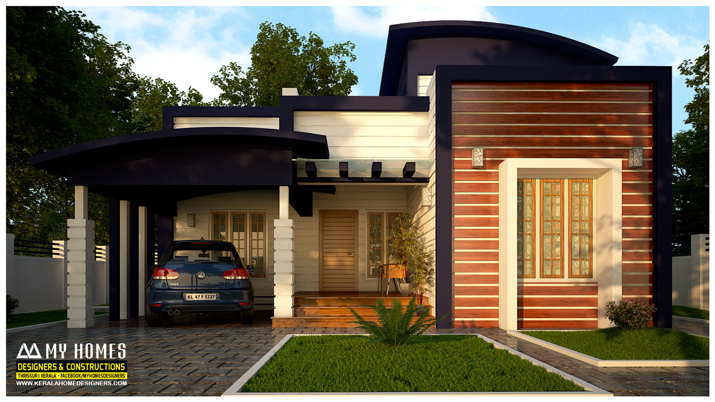 Kerala style low budget home plans for Low building cost house plans