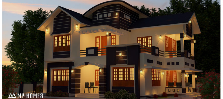 kerala 4 bhk home design within your budget