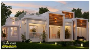 contemporary budget homes in kerala