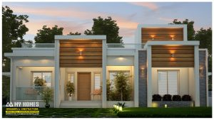 contemporary budget house in kerala