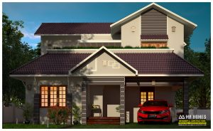 new house design kerala