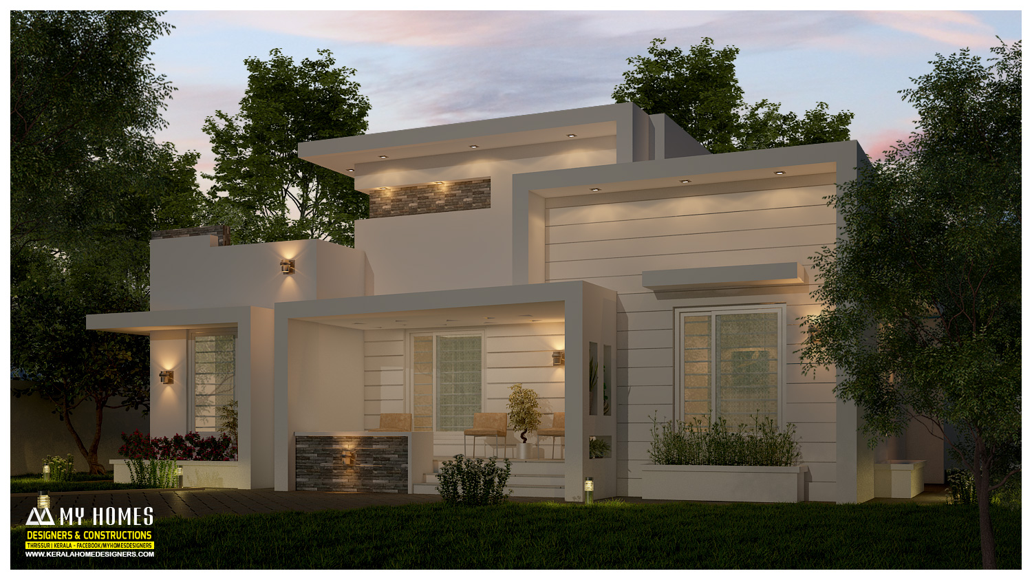 low-budget houses plans in kerala