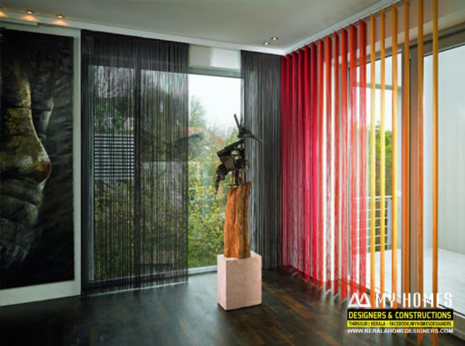 kerala house curtain designs